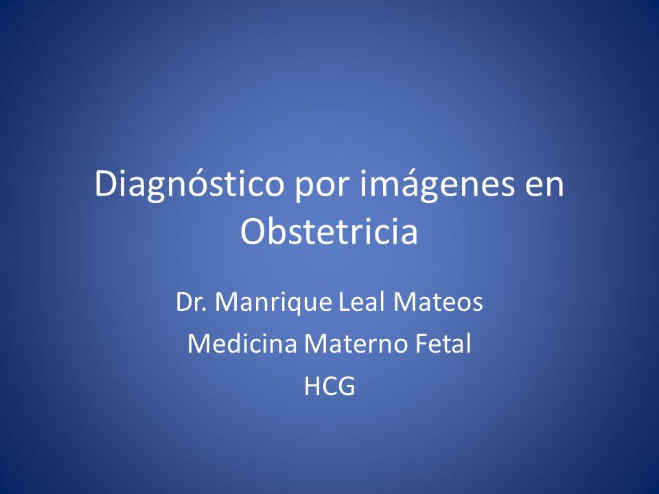 Diagnóstico por imágenes en Obstetricia