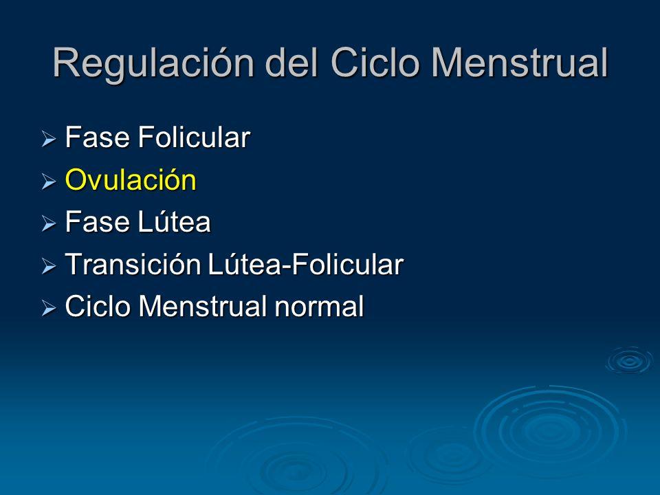 Regulación del Ciclo Menstrual