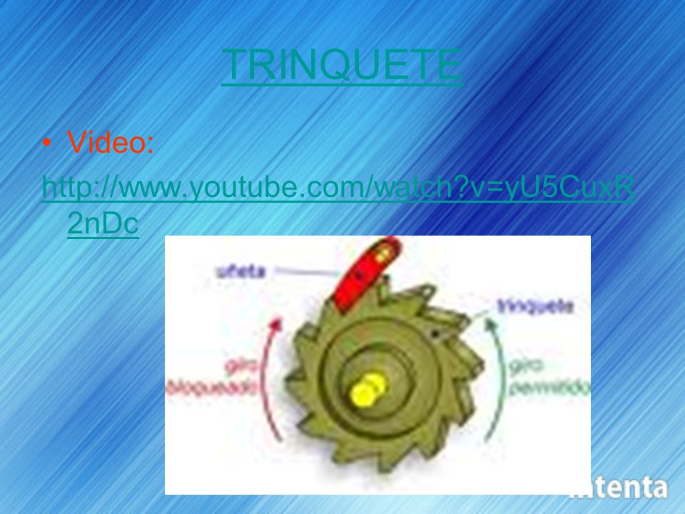TRINQUETE Video:   v=yU5CuxR2nDc