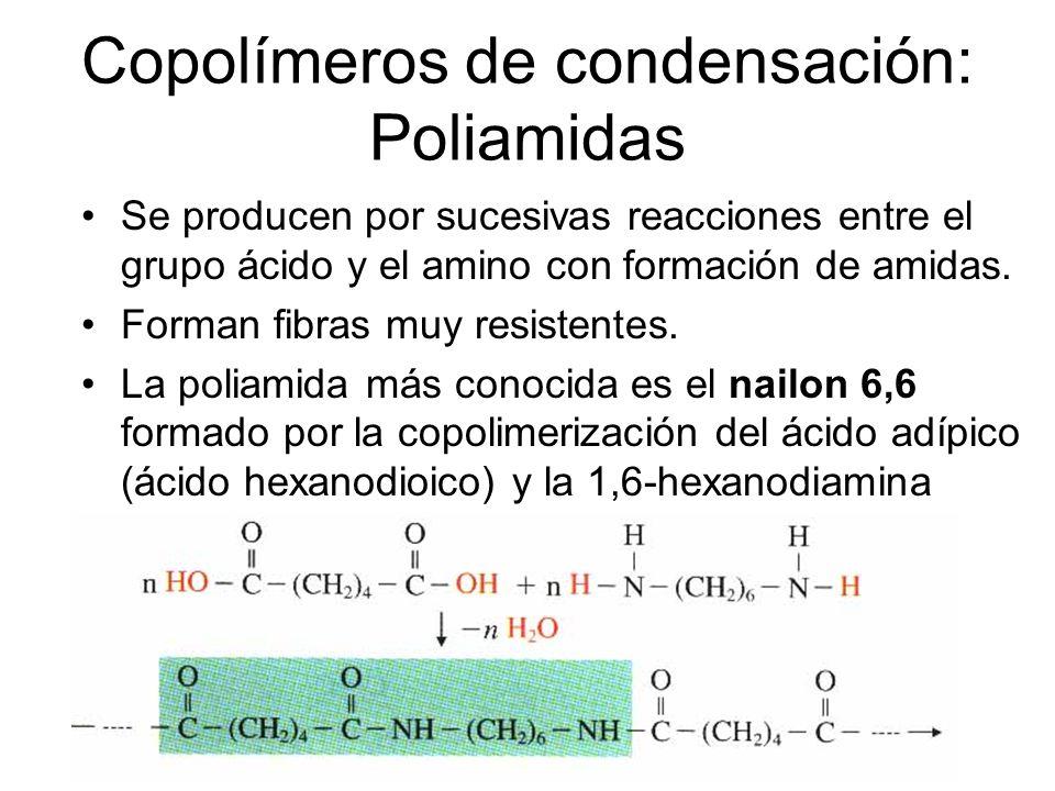 Copolímeros de condensación: Poliamidas