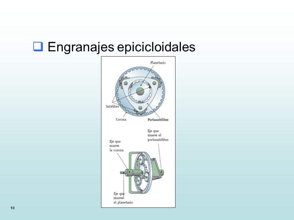 Engranajes epicicloidales