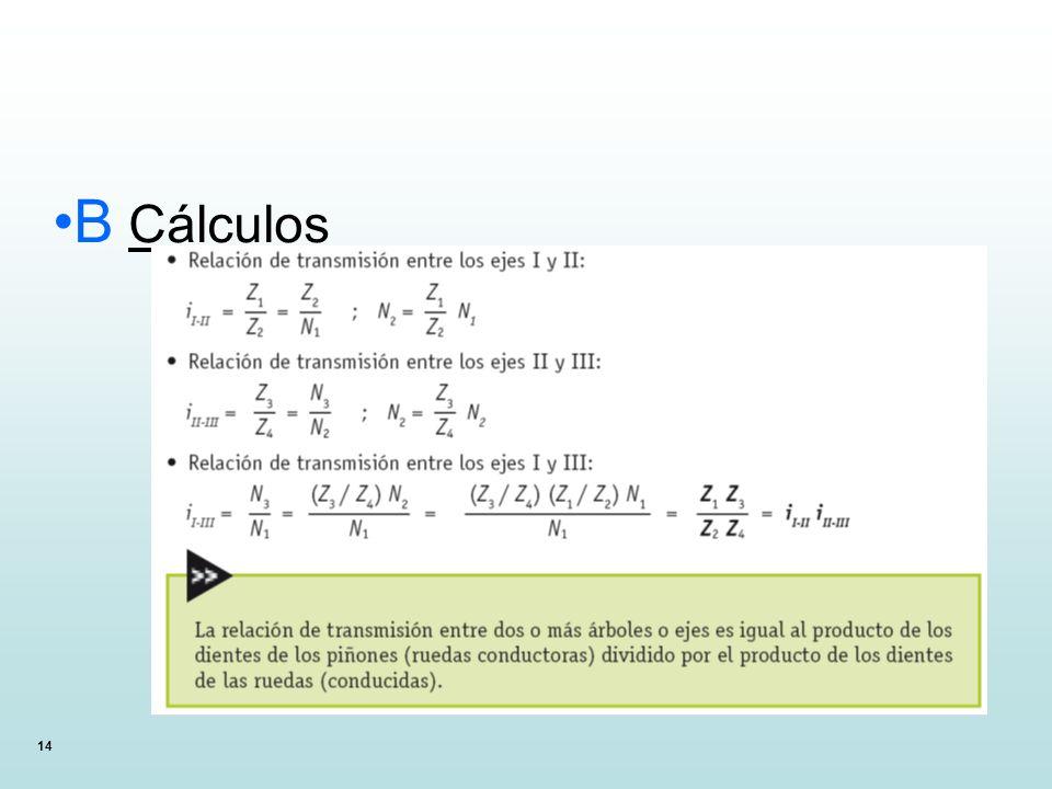 B Cálculos 14