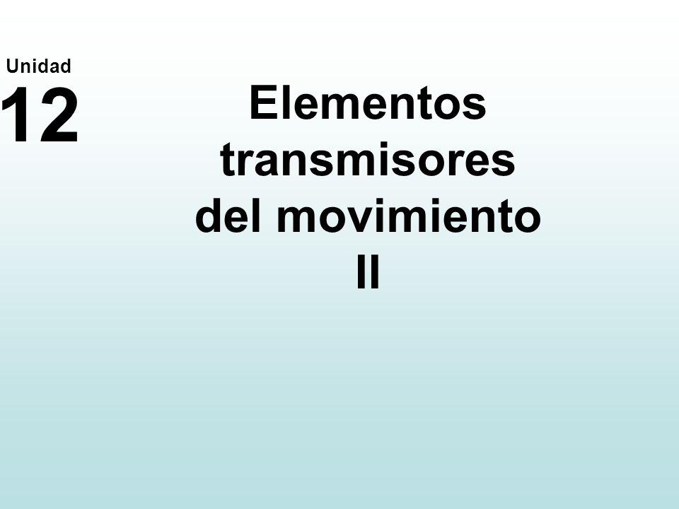 Elementos transmisores del movimiento II
