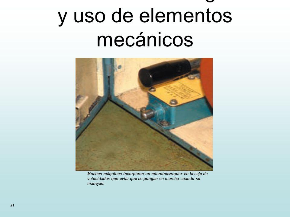 12.13. Normas de seguridad y uso de elementos mecánicos