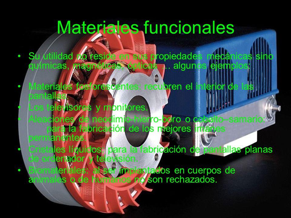 Materiales funcionales