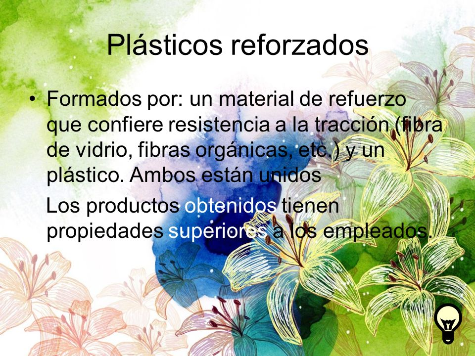 Plásticos reforzados