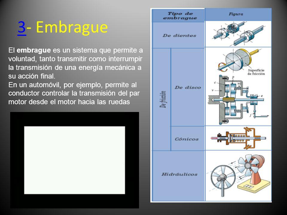 3- Embrague