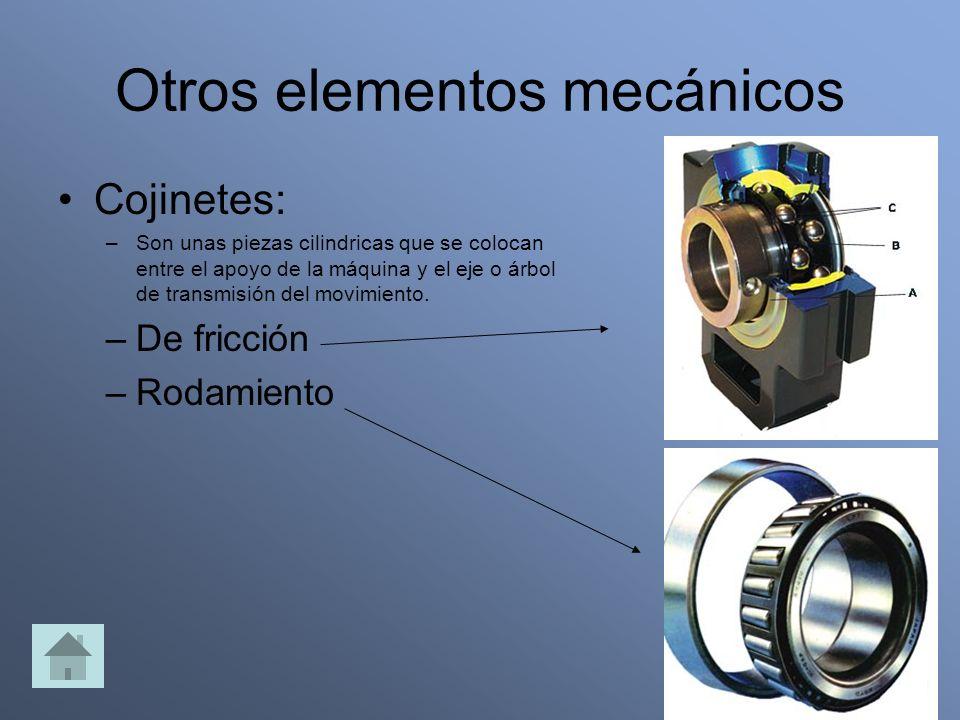 Otros elementos mecánicos