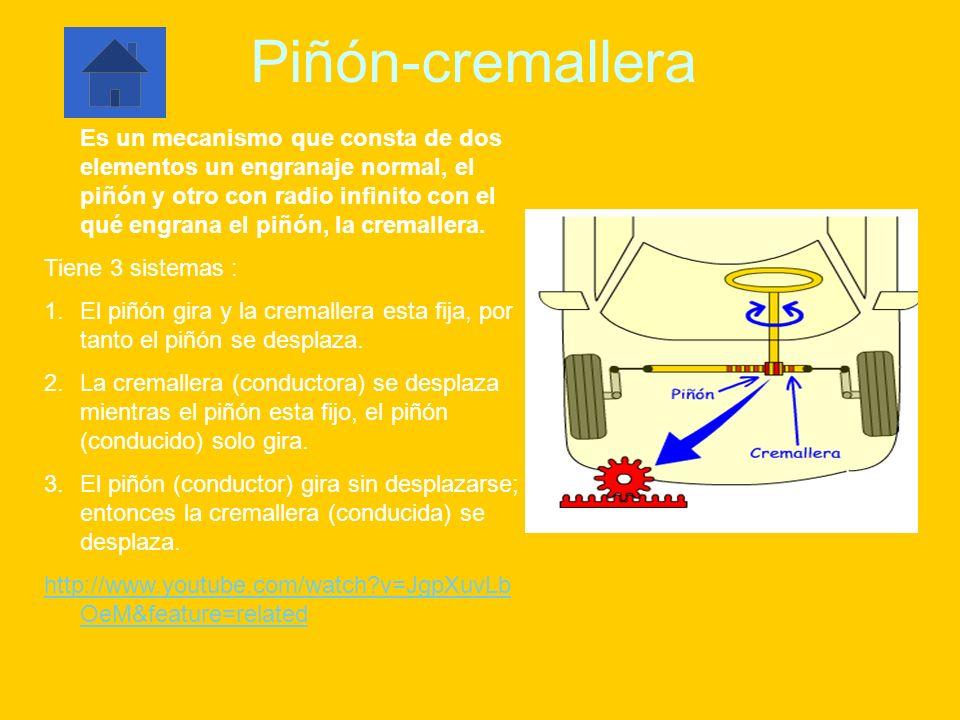 Piñón-cremallera