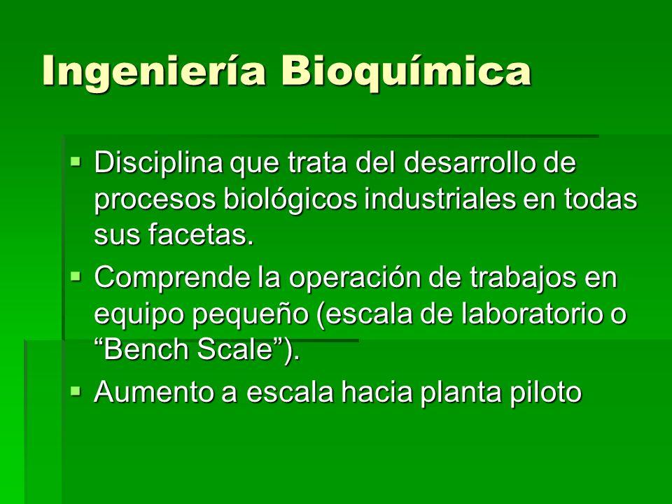 Ingeniería Bioquímica