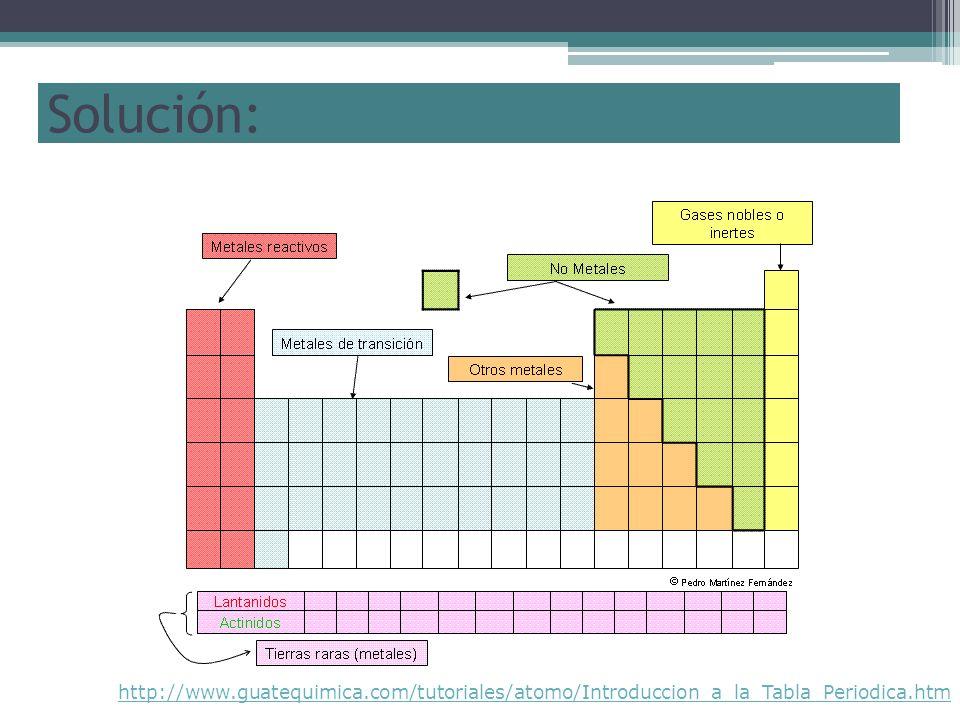 Elementos y compuestos ppt descargar 18 solucin urtaz Choice Image