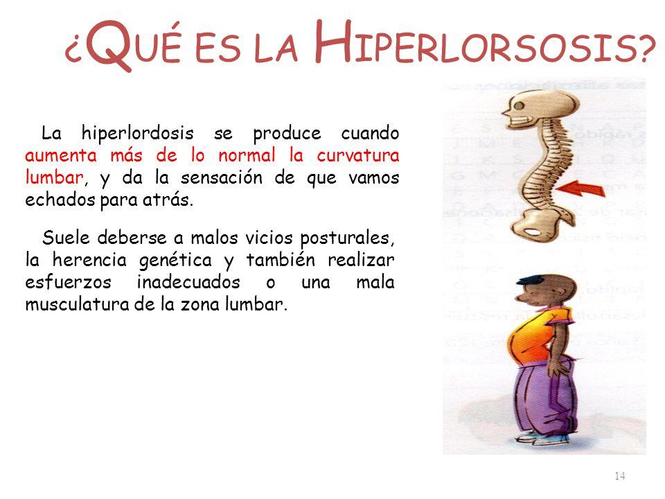 ¿QUÉ ES LA HIPERLORSOSIS