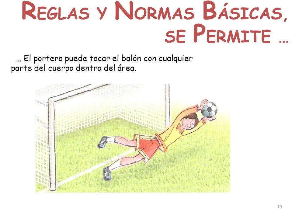 REGLAS Y NORMAS BÁSICAS,
