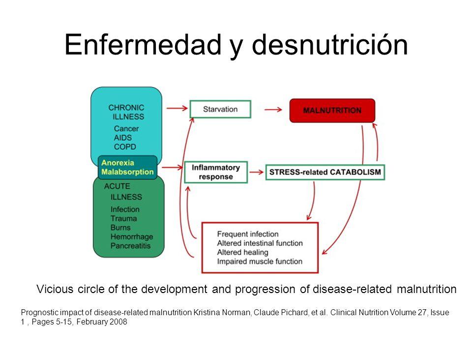 Enfermedad y desnutrición