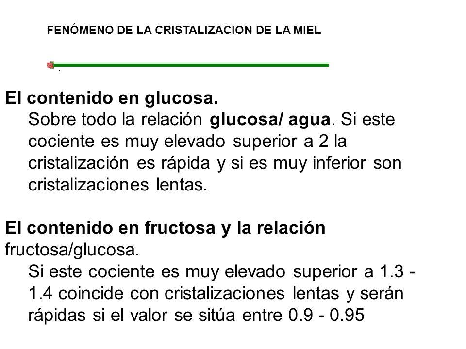 El contenido en glucosa.