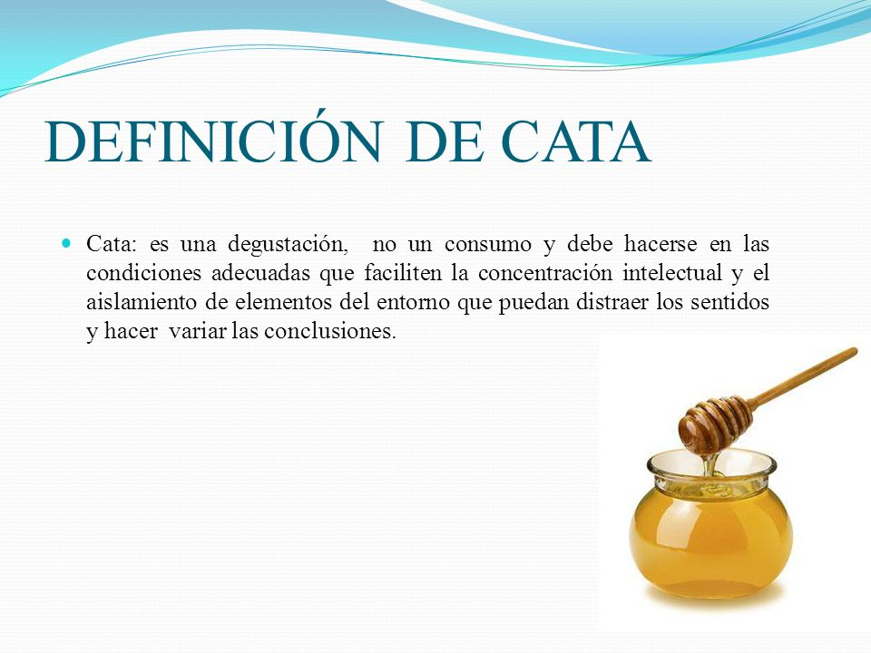 DEFINICIÓN DE CATA
