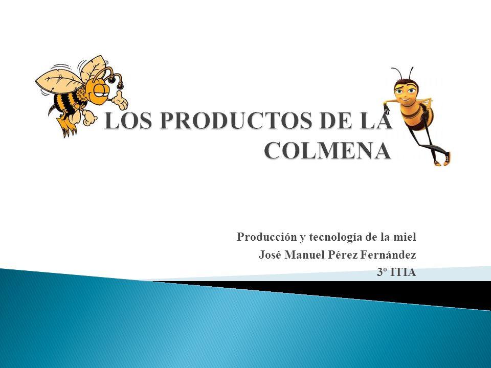 LOS PRODUCTOS DE LA COLMENA