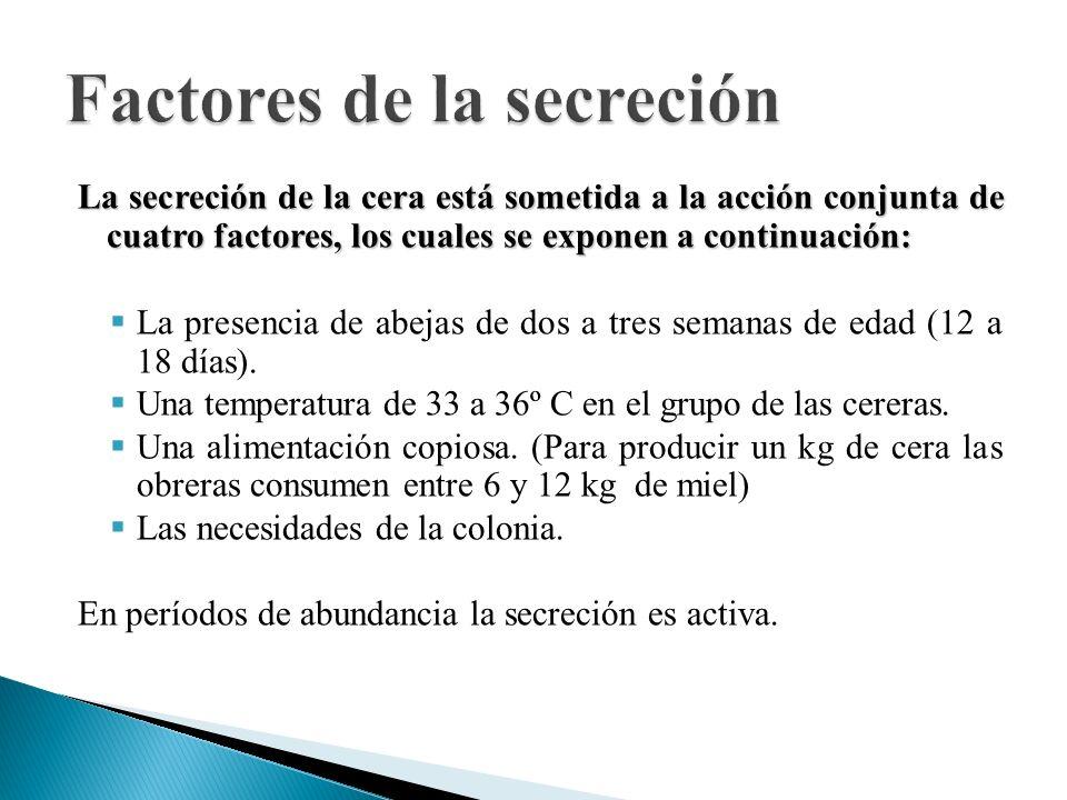 Factores de la secreción