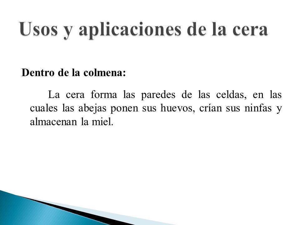 Usos y aplicaciones de la cera