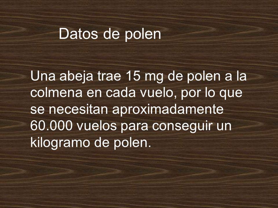 Datos de polen