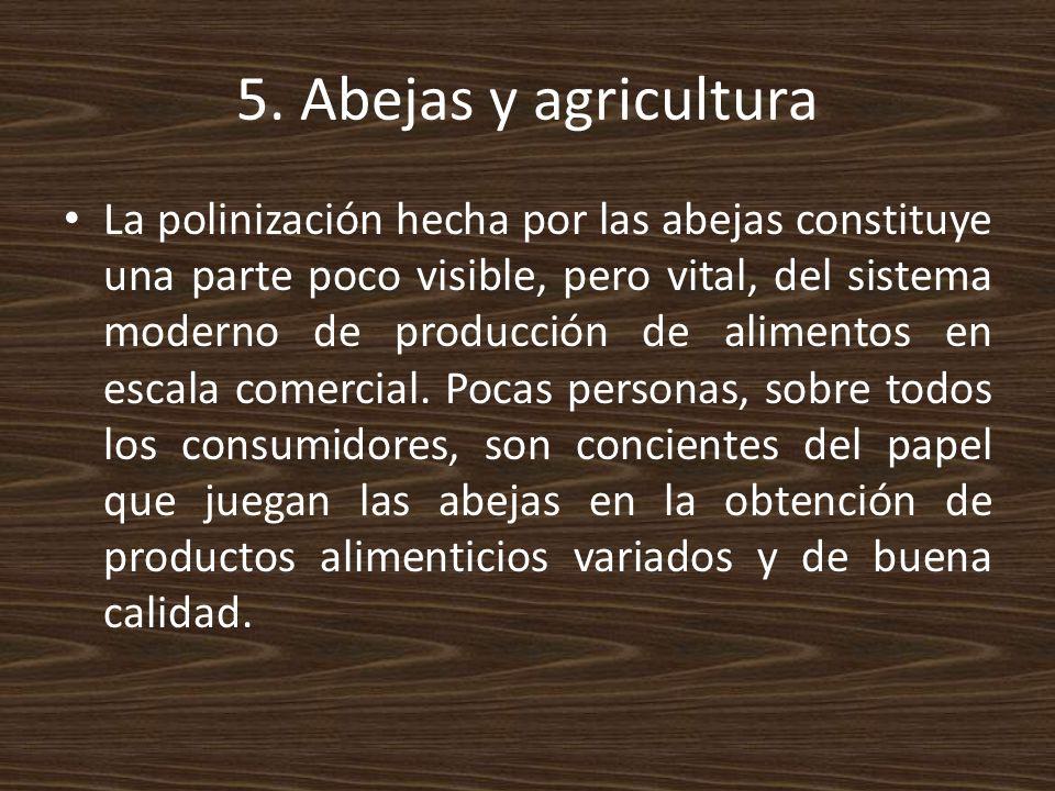 5. Abejas y agricultura