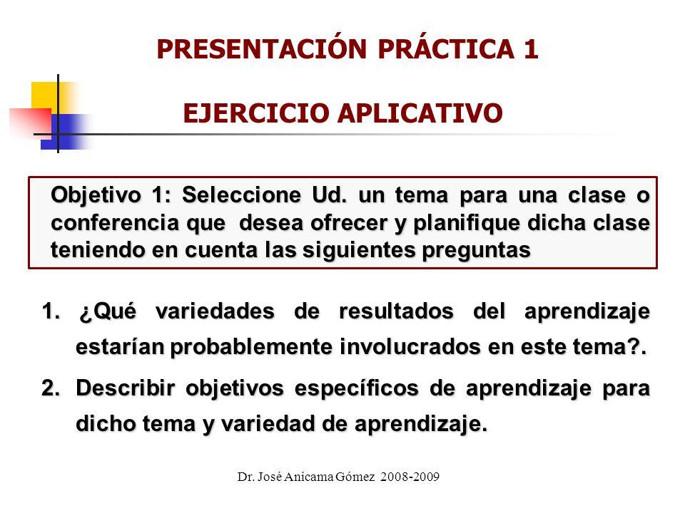 PRESENTACIÓN PRÁCTICA 1 EJERCICIO APLICATIVO