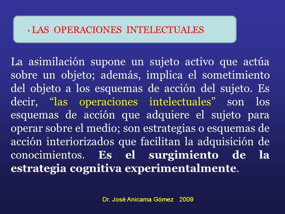 LAS OPERACIONES INTELECTUALES