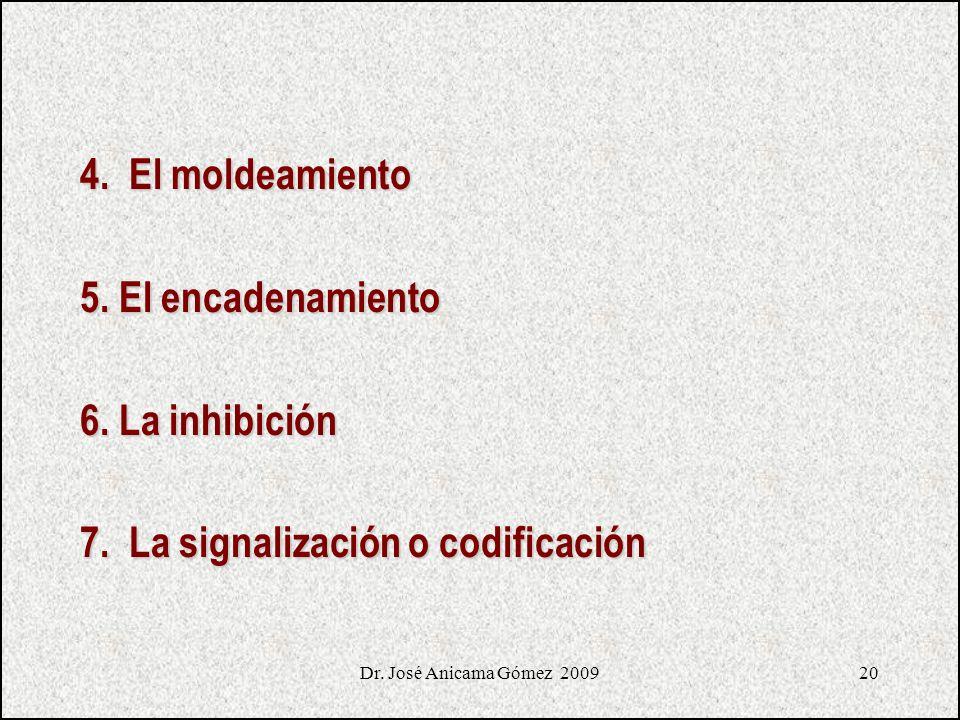 7. La signalización o codificación