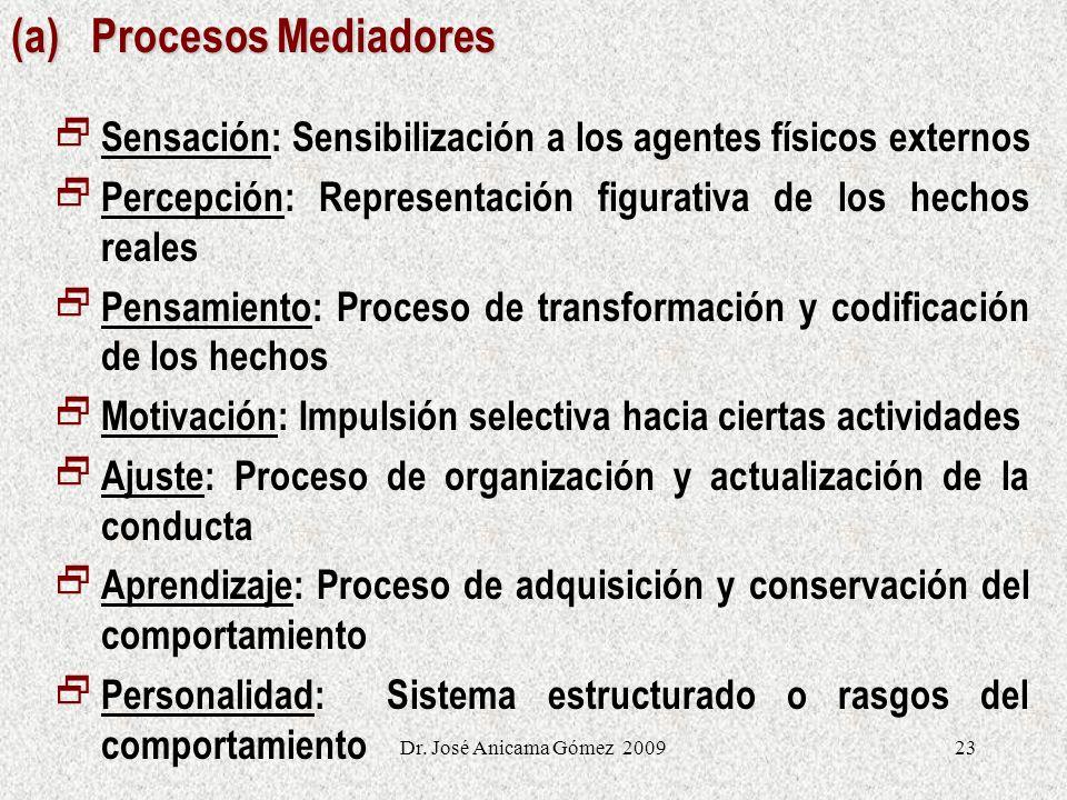 (a) Procesos Mediadores