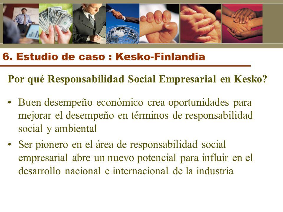 6. Estudio de caso : Kesko-Finlandia