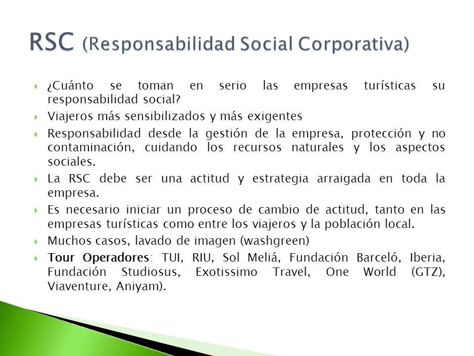 RSC (Responsabilidad Social Corporativa)