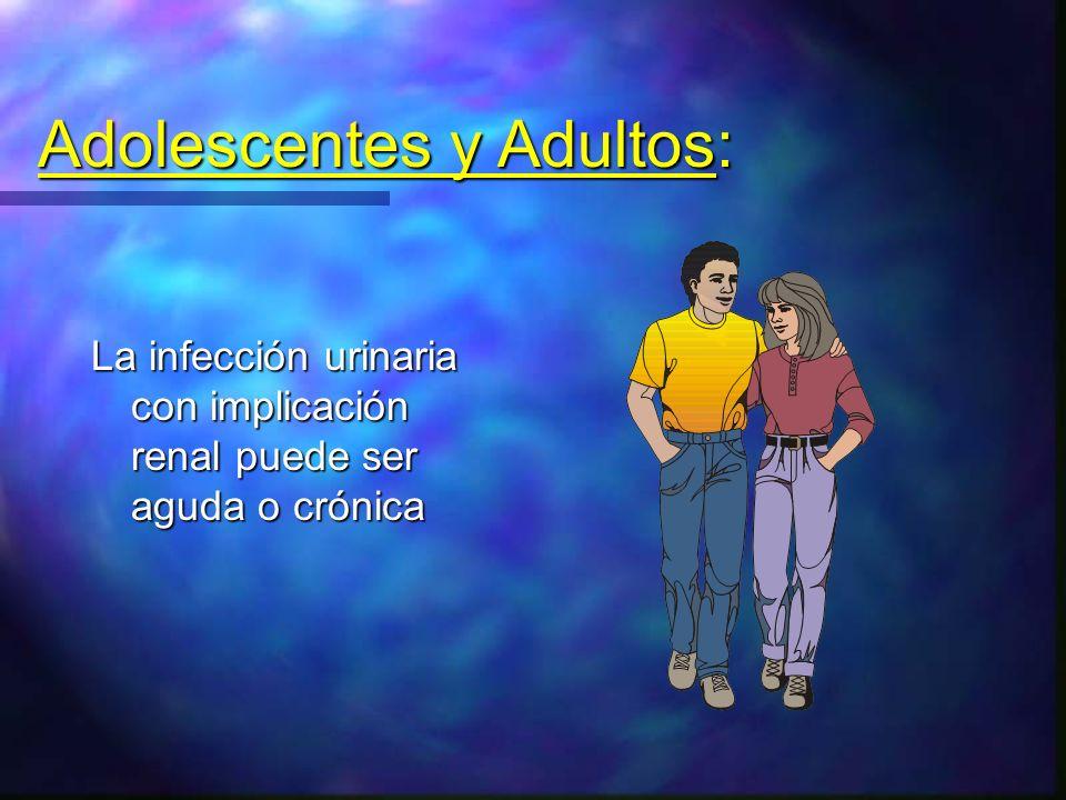 Adolescentes y Adultos: