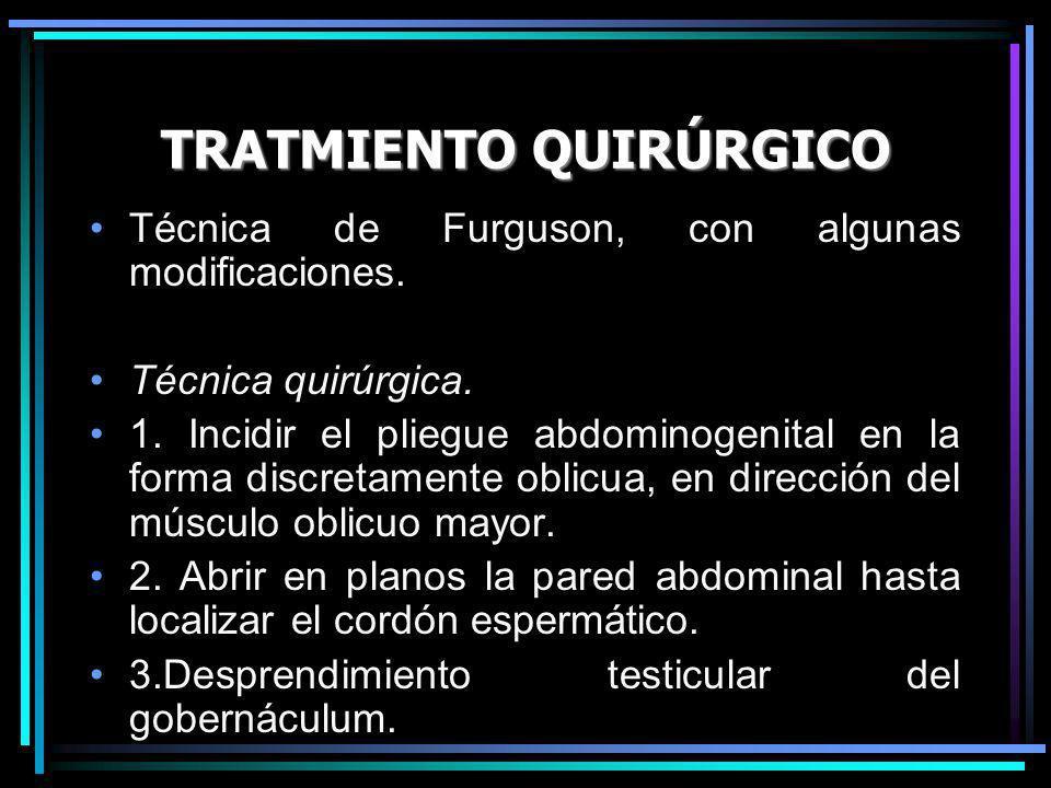 TRATMIENTO QUIRÚRGICO