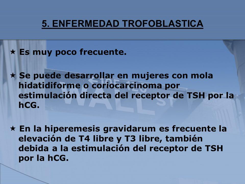 5. ENFERMEDAD TROFOBLASTICA