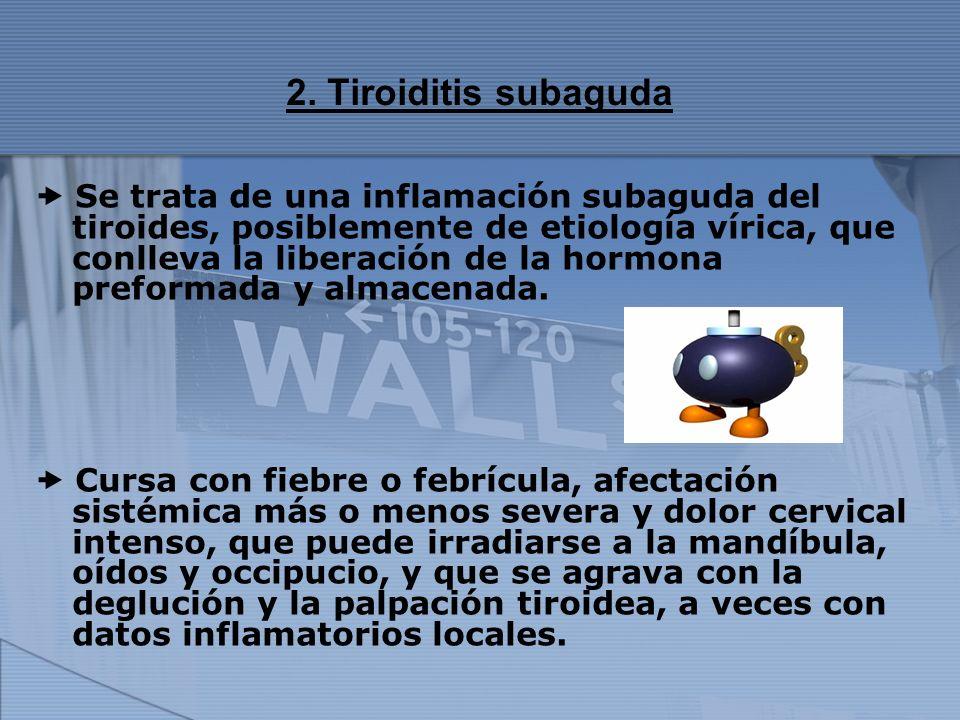 2. Tiroiditis subaguda