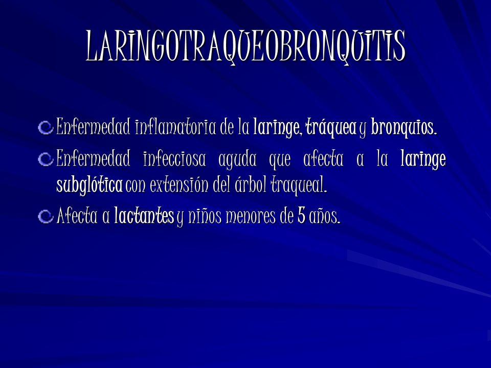 LARINGOTRAQUEOBRONQUITIS