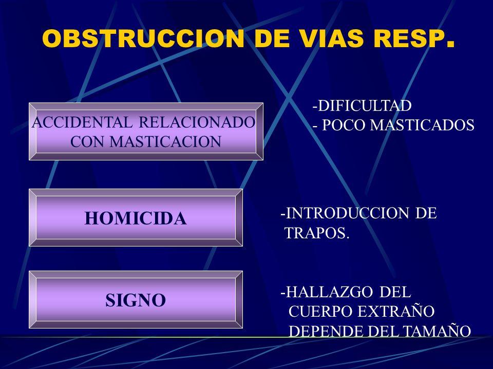 OBSTRUCCION DE VIAS RESP.