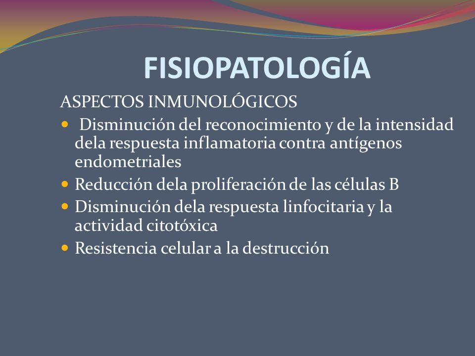 FISIOPATOLOGÍA ASPECTOS INMUNOLÓGICOS