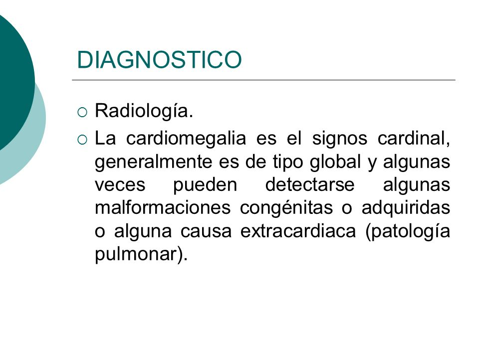DIAGNOSTICO Radiología.