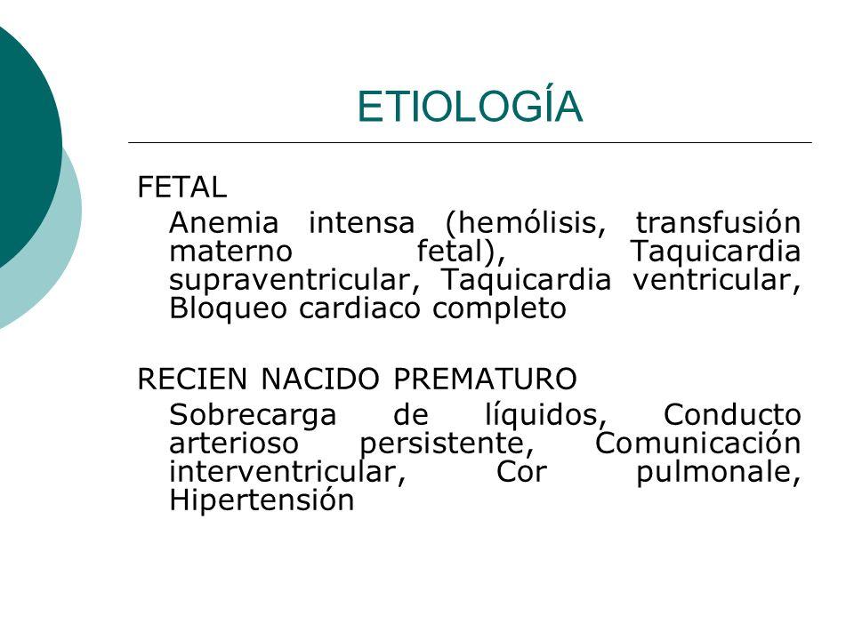 ETIOLOGÍA FETAL.