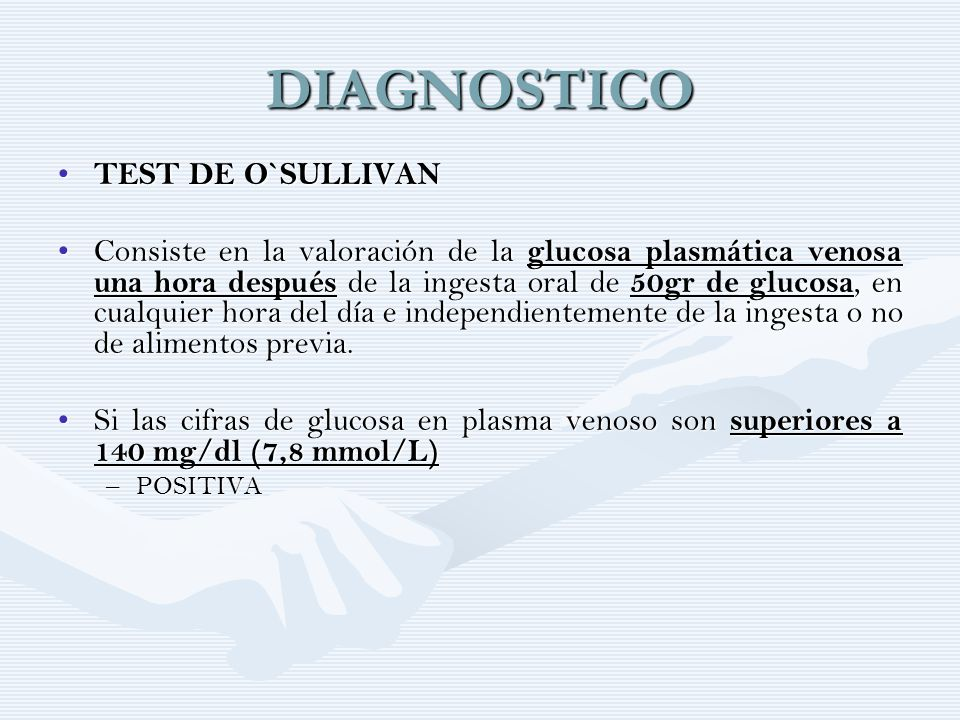 DIAGNOSTICO TEST DE O`SULLIVAN