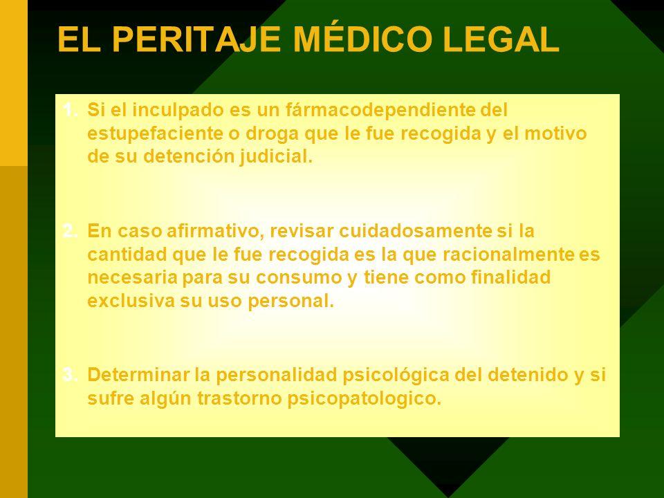 EL PERITAJE MÉDICO LEGAL