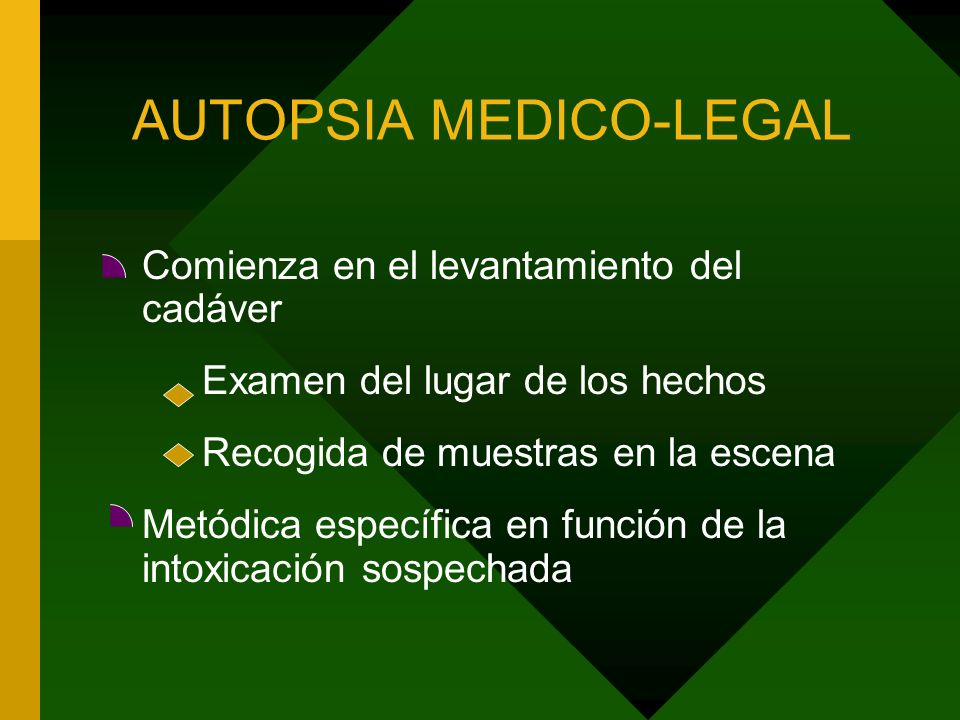 AUTOPSIA MEDICO-LEGAL