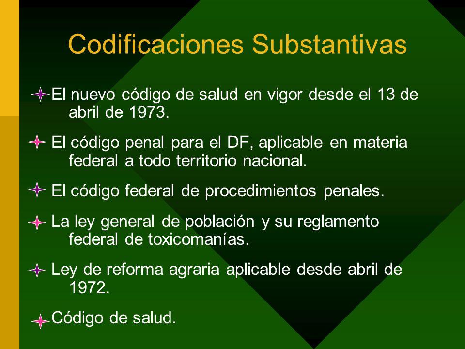 Codificaciones Substantivas
