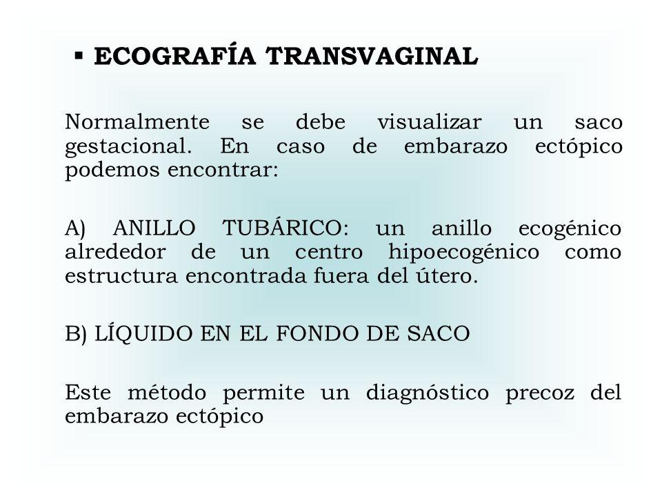 ECOGRAFÍA TRANSVAGINAL