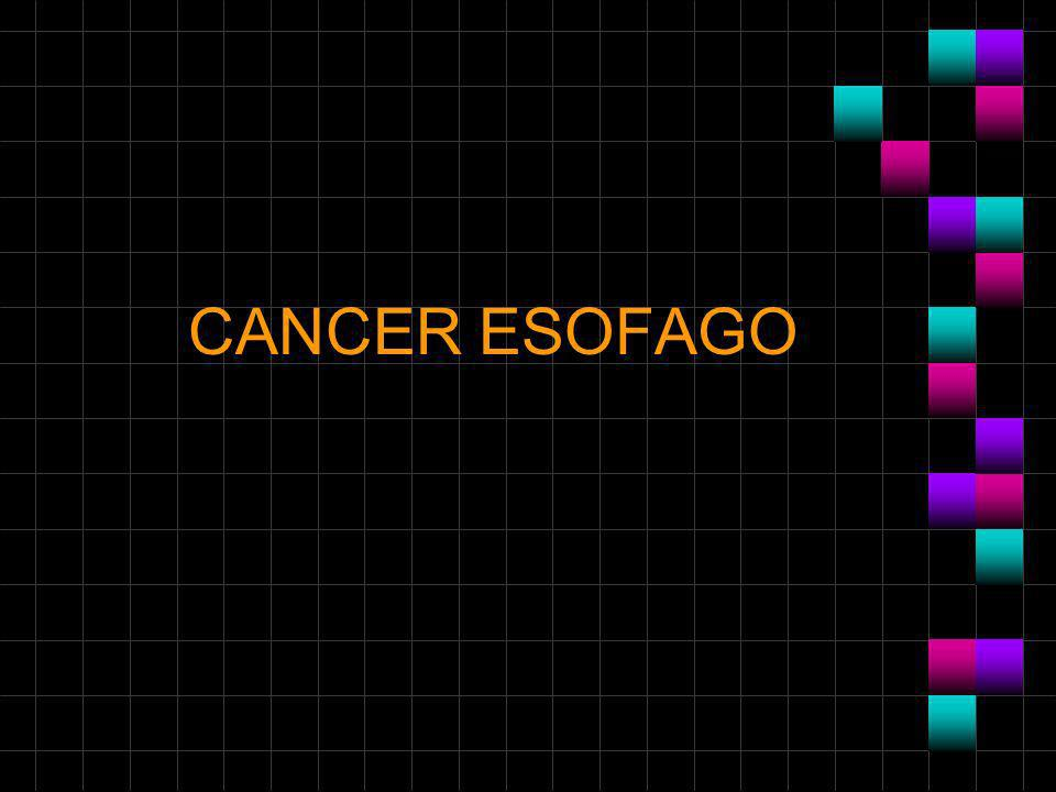 CANCER ESOFAGO