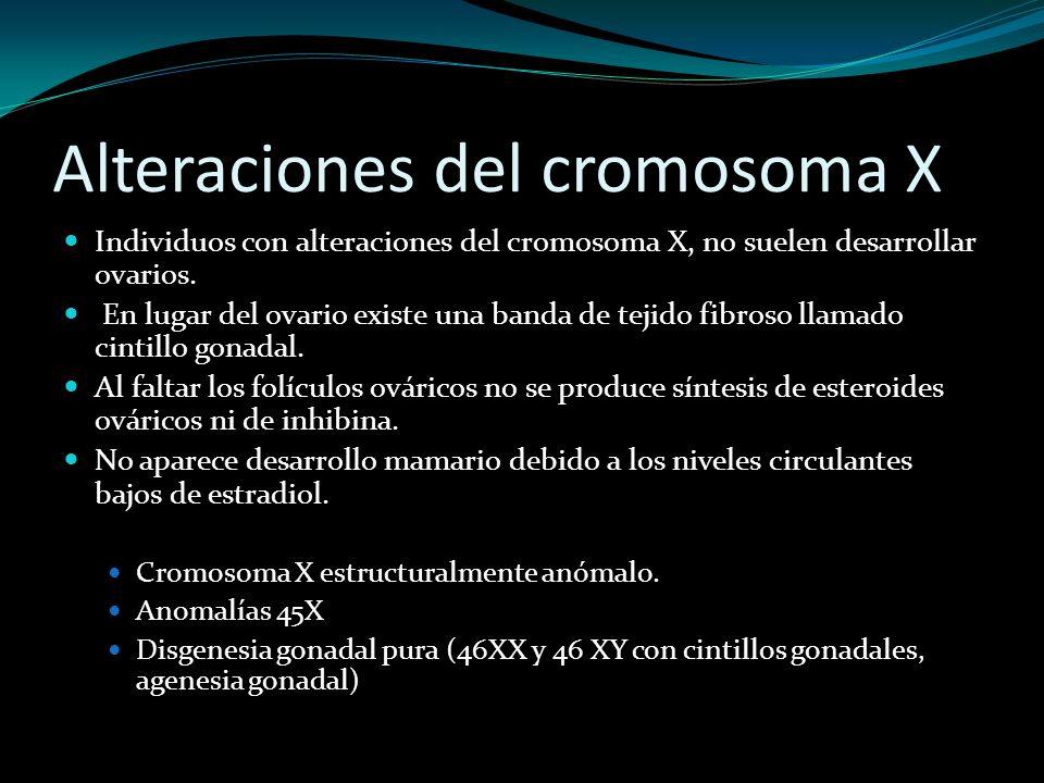 Alteraciones del cromosoma X
