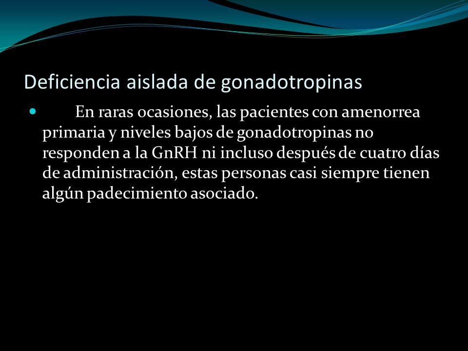 Deficiencia aislada de gonadotropinas