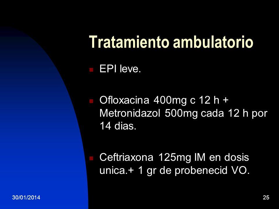 Tratamiento ambulatorio