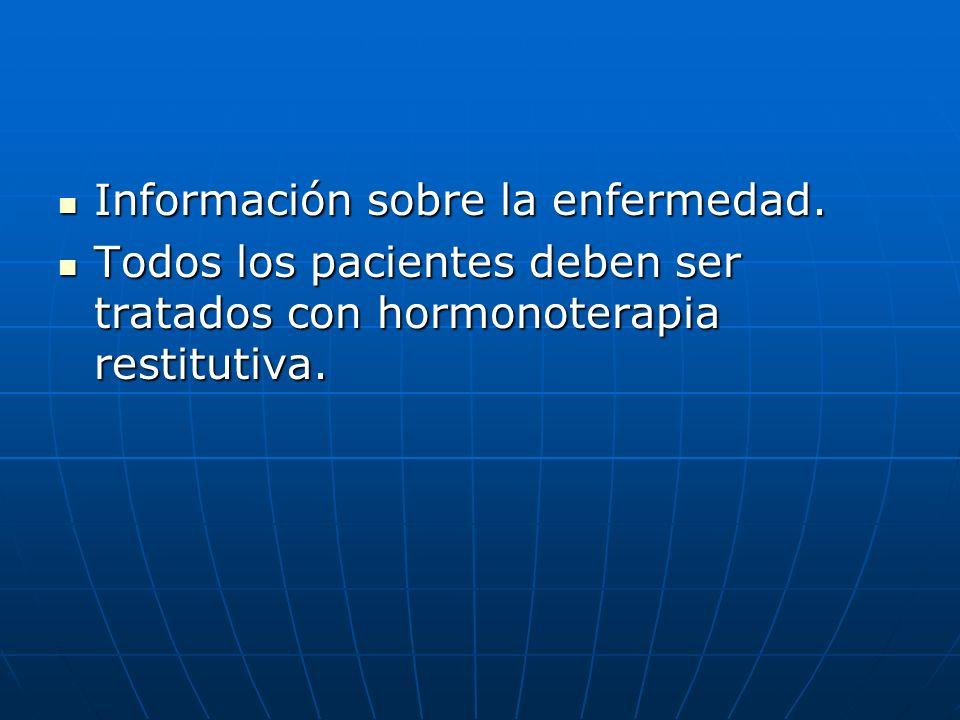 Información sobre la enfermedad.